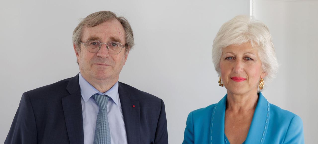 Philippe Vasseur, président du World Forum for a Responsible Economy, dialogue avec Marie-Claire Capobianco, directeur des réseaux France et membre du comité exécutif de BNP Paribas, sur le rôle des entreprises dans la société.