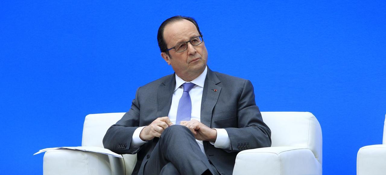 François Hollande, en janvier 2016.