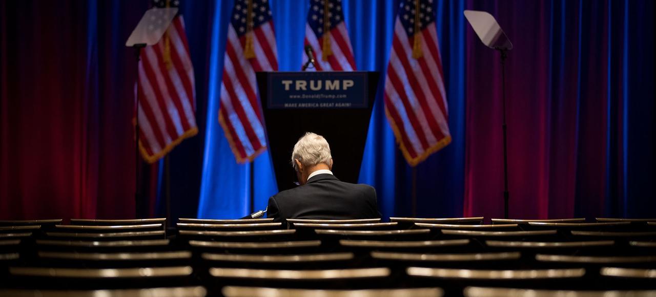 Donald Trump, candidat sans parti
