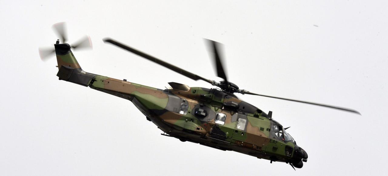 Des hélicoptères de transport tactique modernes, les NH90-TTH Caïman, ont été récemment acquis par l'armée française.