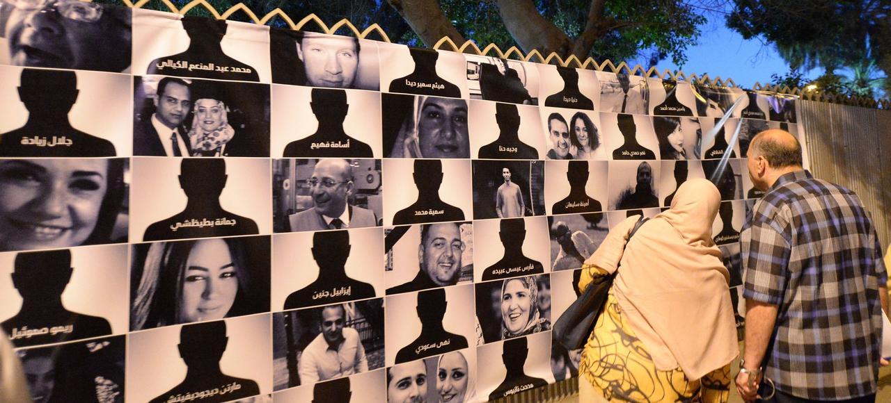 Portraits des 66 victimes de l'Airbus A320.