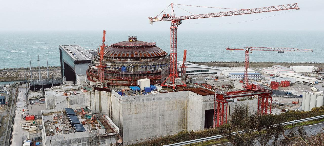 La centrale de nouvelle génération de Flamanville 3 (Manche) devrait être opérationnelle en 2018.