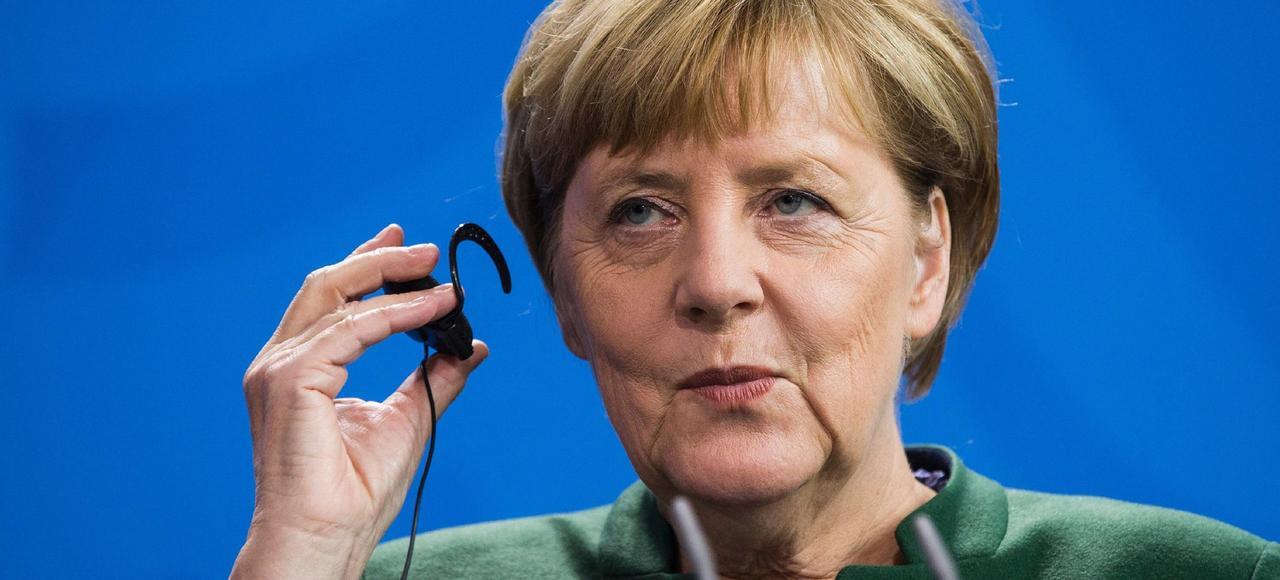 La chancelière Angela Merkel, mercredi à Berlin.