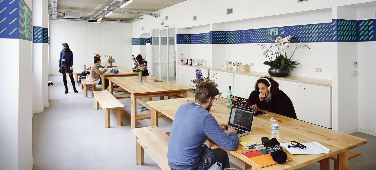 Des start-up sont déjà installées dans le Liberté Living-Lab, le nouvel espace de coworking, situé dans le quartier du Sentier à Paris.