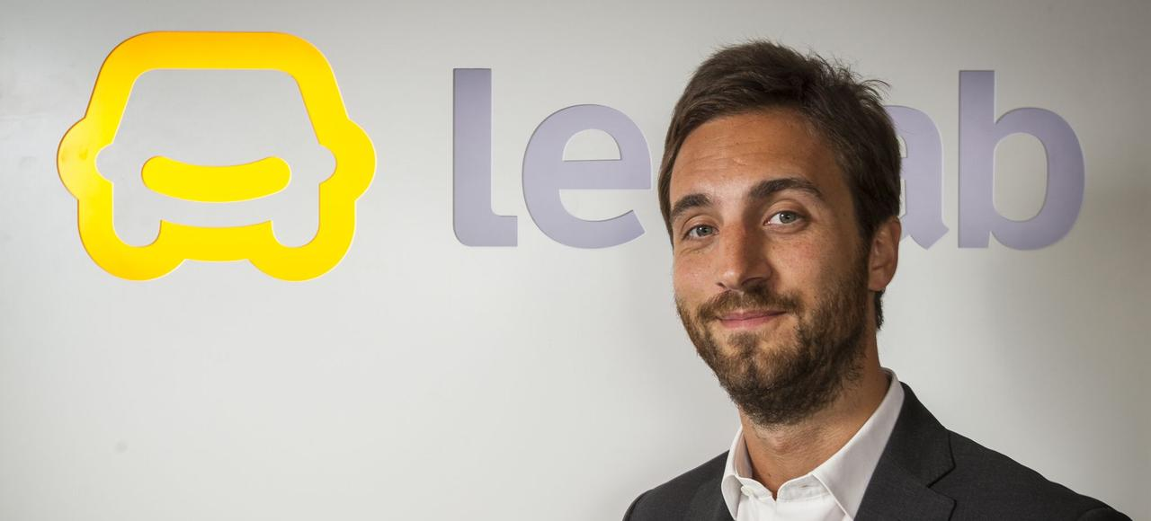 Benjamin Cardoso, fondateur et président de la société LeCab.