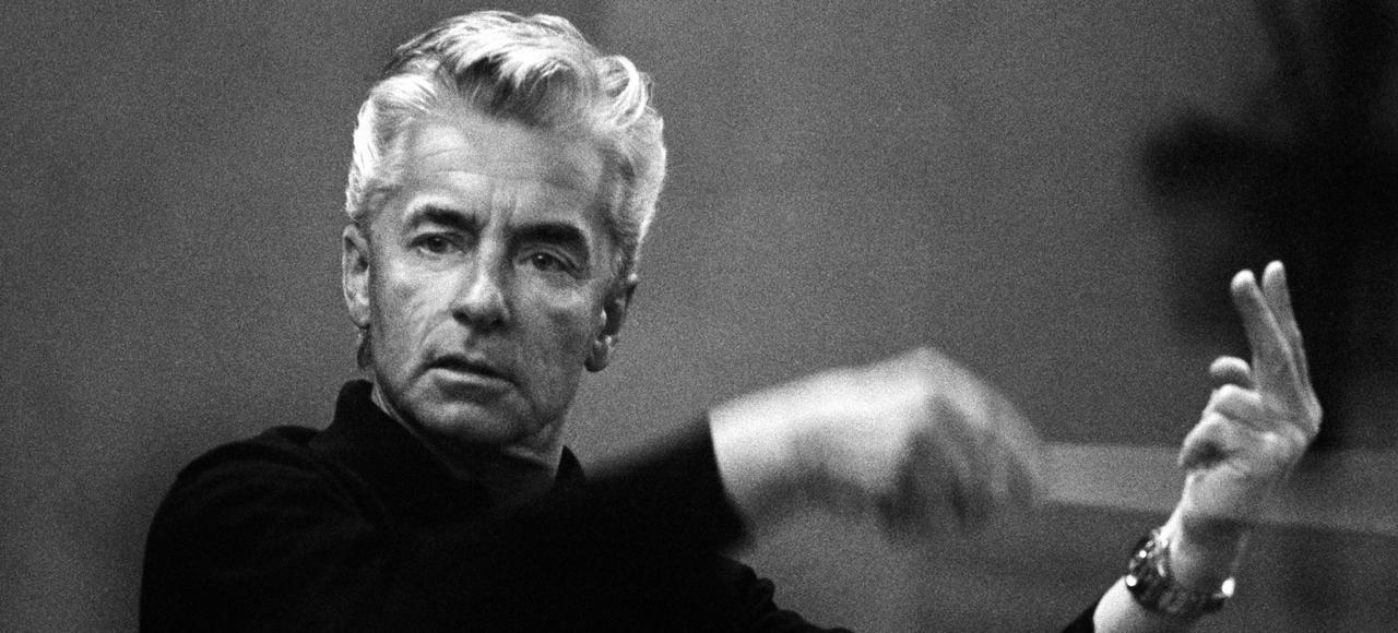 Herbert von Karajan à Berlin, en 1970