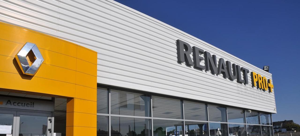 La concession Renault à Saumur (49).