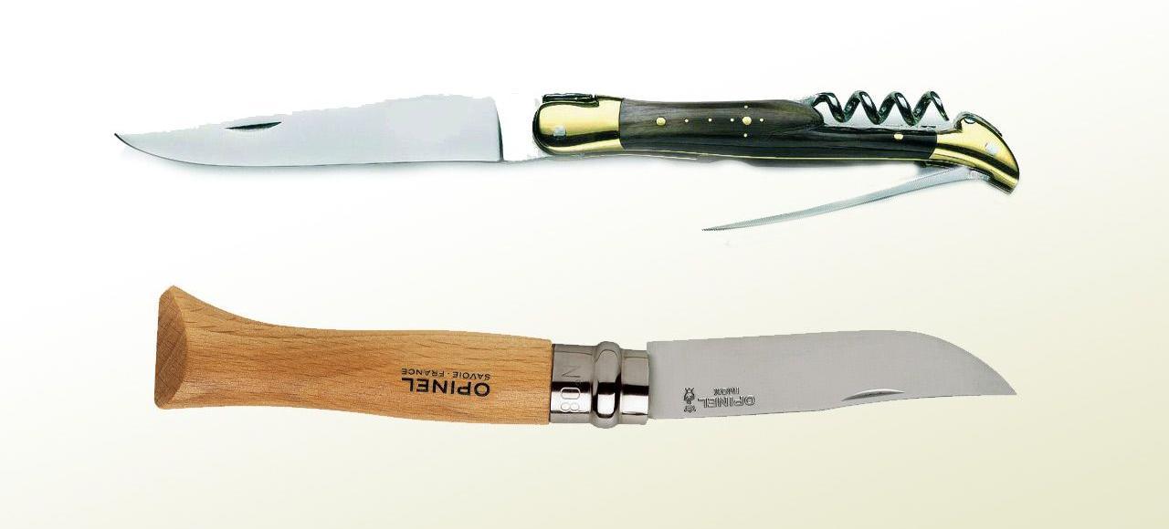 Laguiole vs Opinel : à couteaux tirés