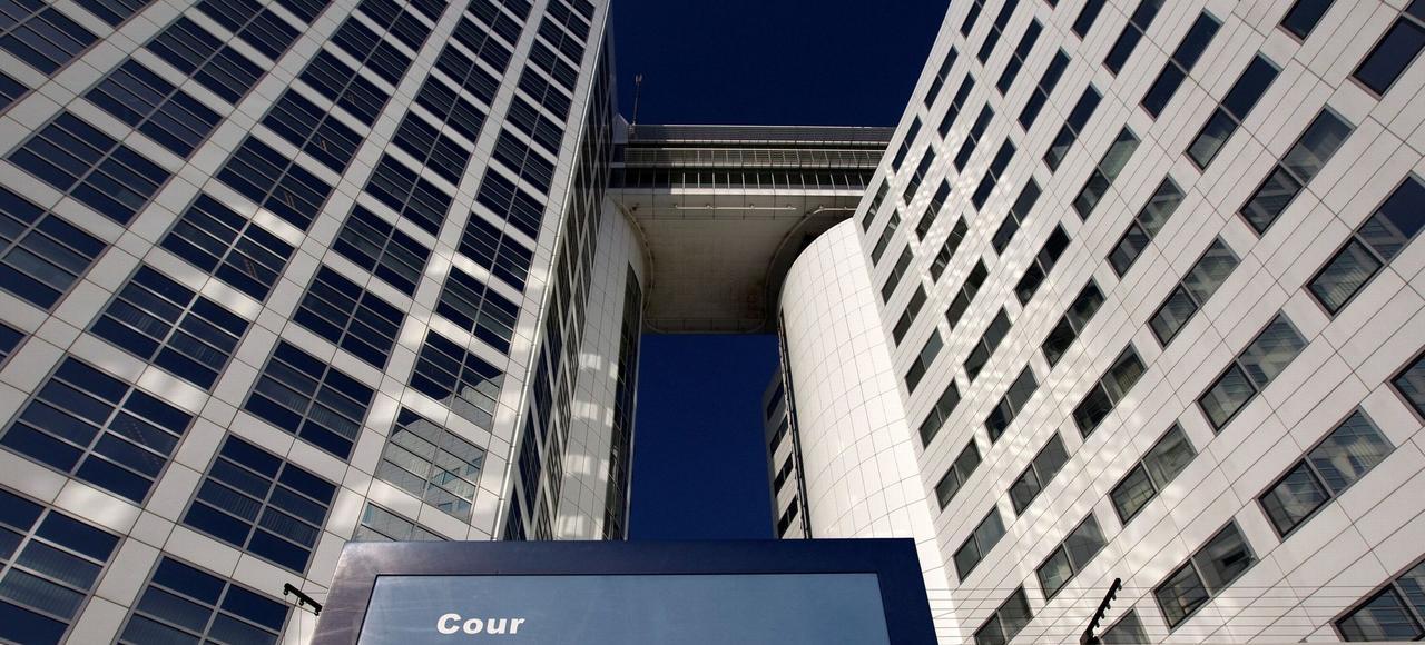 Siège de la Cour Pénale internationale, à La Haye, aux Pays-Bas.