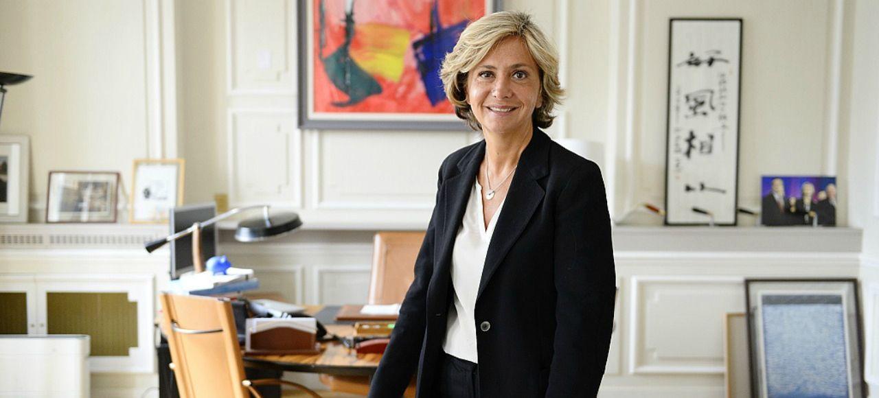 Valérie Pécresse, présidente de la Région Ile-de-France, soutient Alain Juppé.