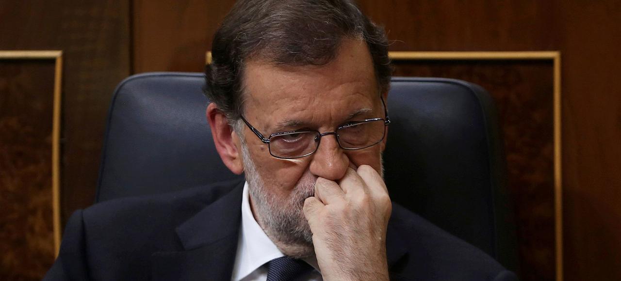 Le chef du gouvernement conservateur Mariano Rajoy.