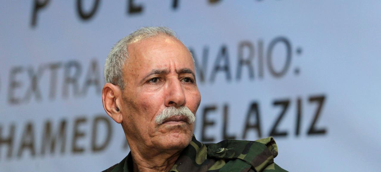 Élu secrétaire général du Front Polisario en juillet dernier, Brahim Ghali est poursuivi pour «génocide et crimes de guerre» par la justice espagnole.