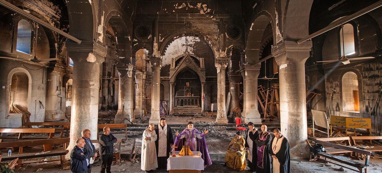 Les chrétiens d'Irak retrouvent leurs églises