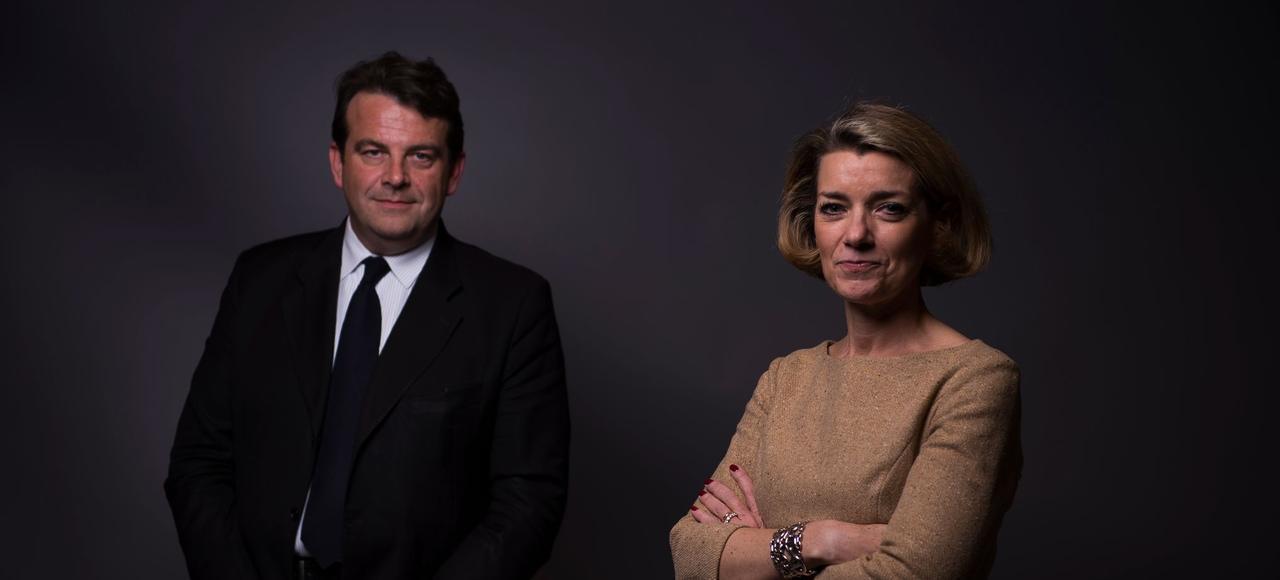 Thierry Solère et Anne Levade veillent au bon fonctionnement de la primaire.