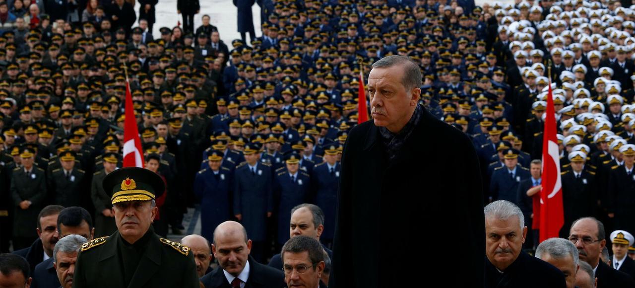 Recep Tayyip Erdogan, le 10 novembre dernier.