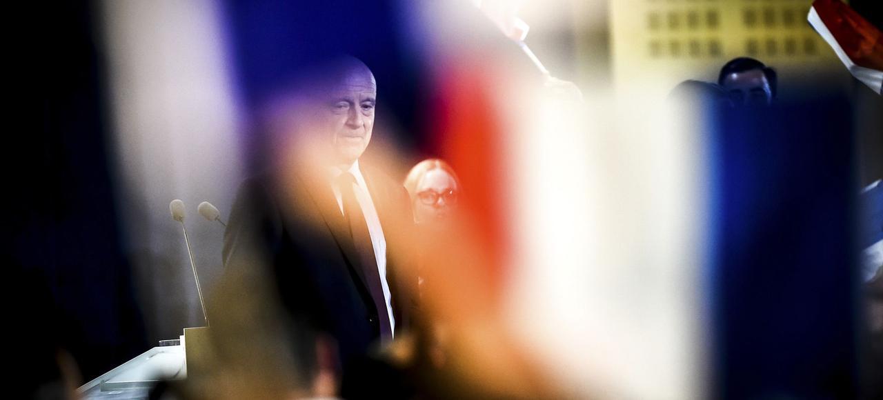 Alain Juppé, mardi à Toulouse.