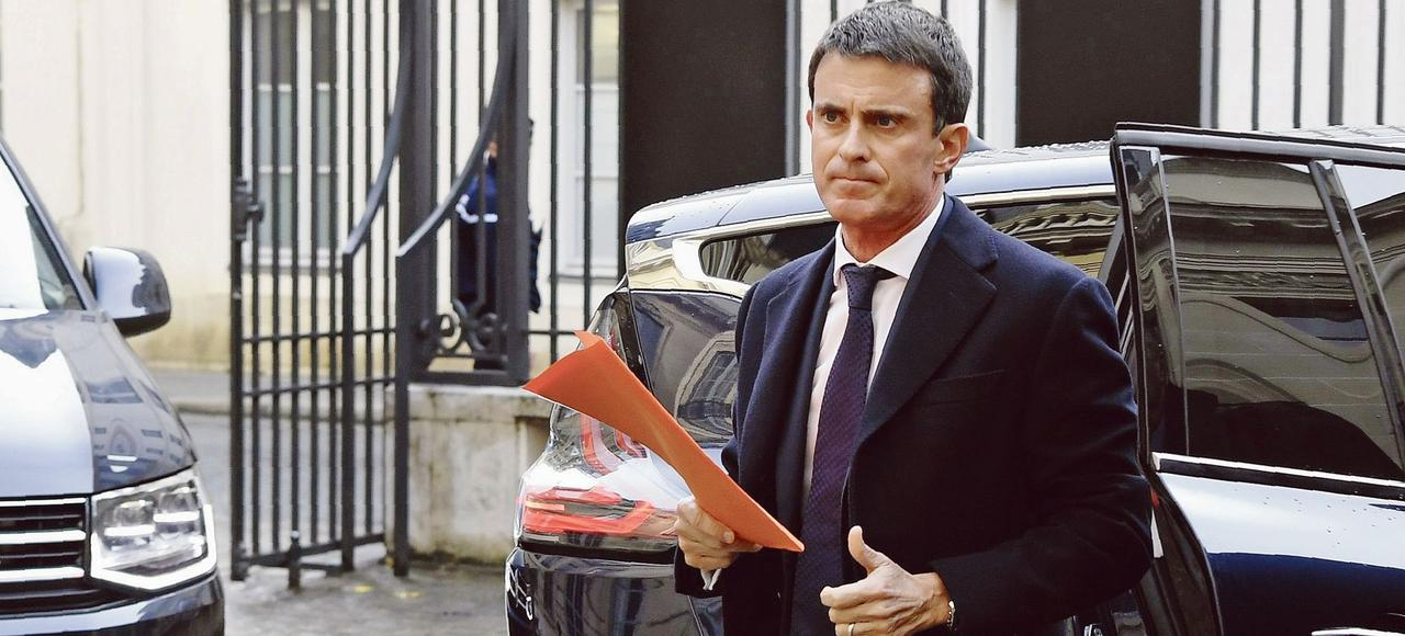 Manuel Valls, mercredi, à Paris.