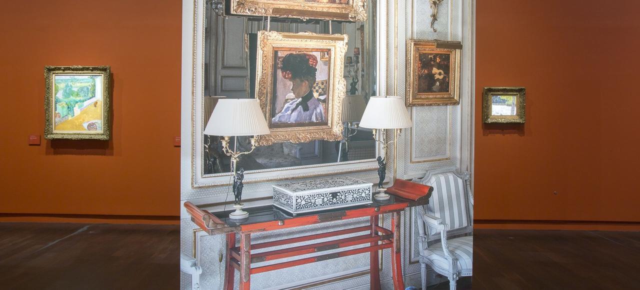 Accrochage en hommage à Jean-Pierre Marcie-Rivière, grand donateur du Musée d'Orsay.