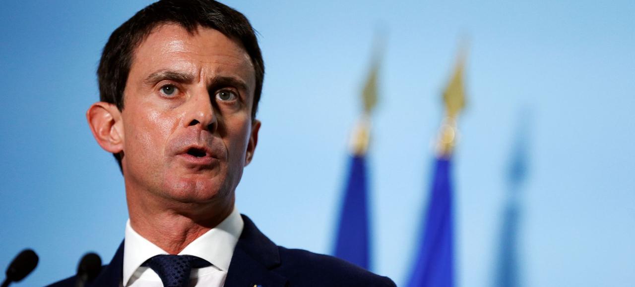 Manuel Valls a assuré qu'il n'y avait «pas de crise institutionnelle» parce que sa «conception des institutions, c'est l'engagement et la loyauté» vis-à-vis du chef de l'État.