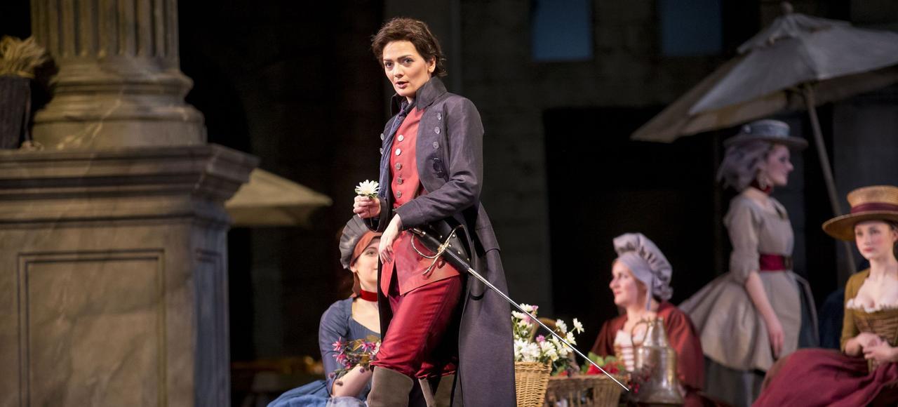Marianne Crebassa, dans <i>Romeo et Juliette</i>, à l'Opéra lyrique de Chicago.