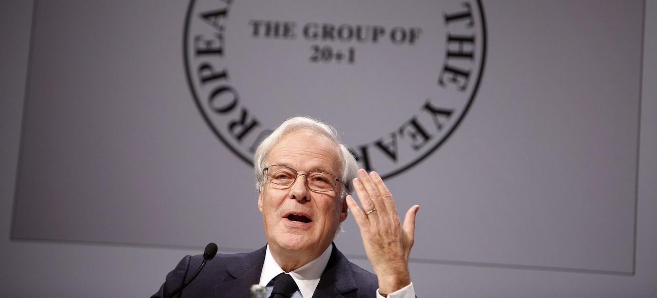 David de Rothschild, président exécutif de la banque franco-britannique Rothschild & Co.