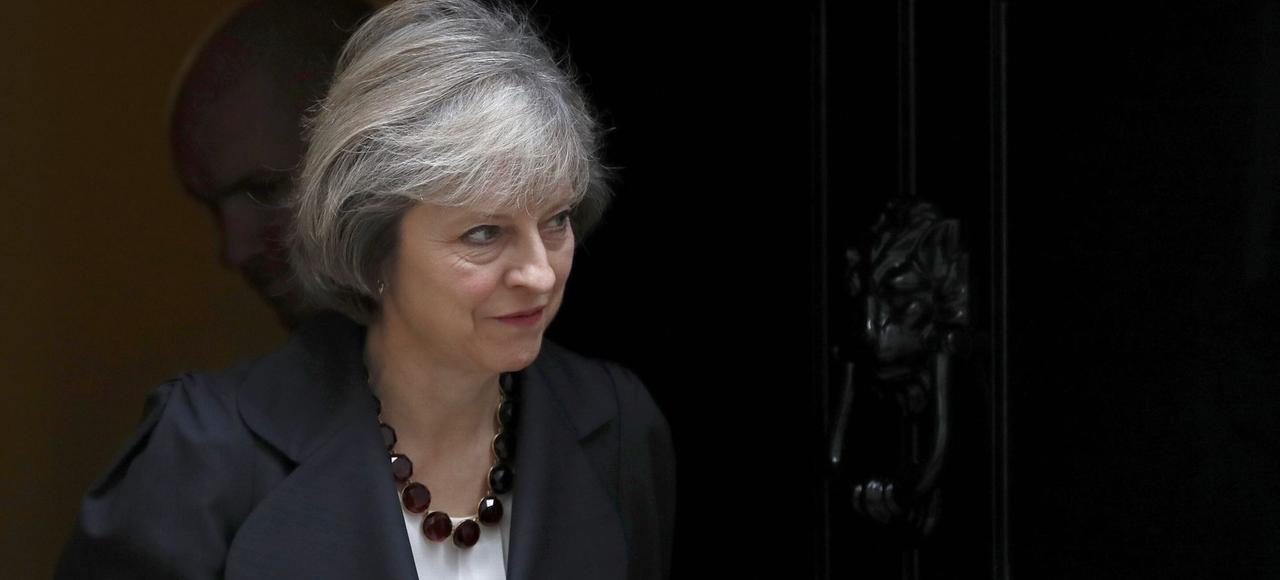 Theresa May, le premier ministre britannique (ici le 23 novembre à Londres), doit demander officiellement le divorce avec l'UE au printemps prochain.