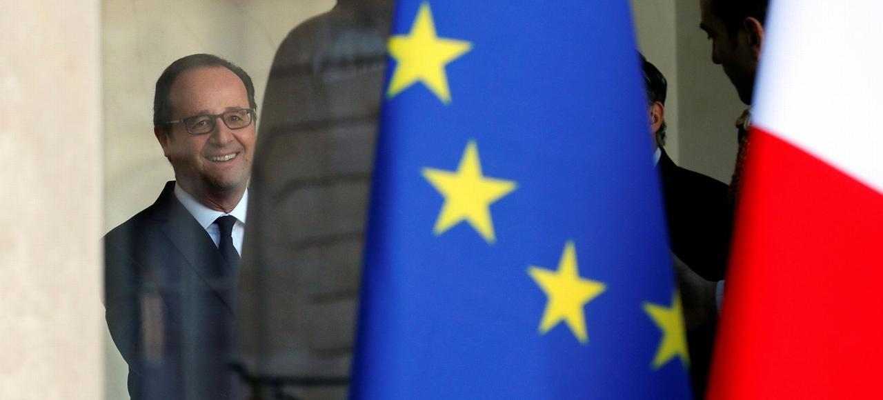 François Hollande, jeudi à l'Élysée.