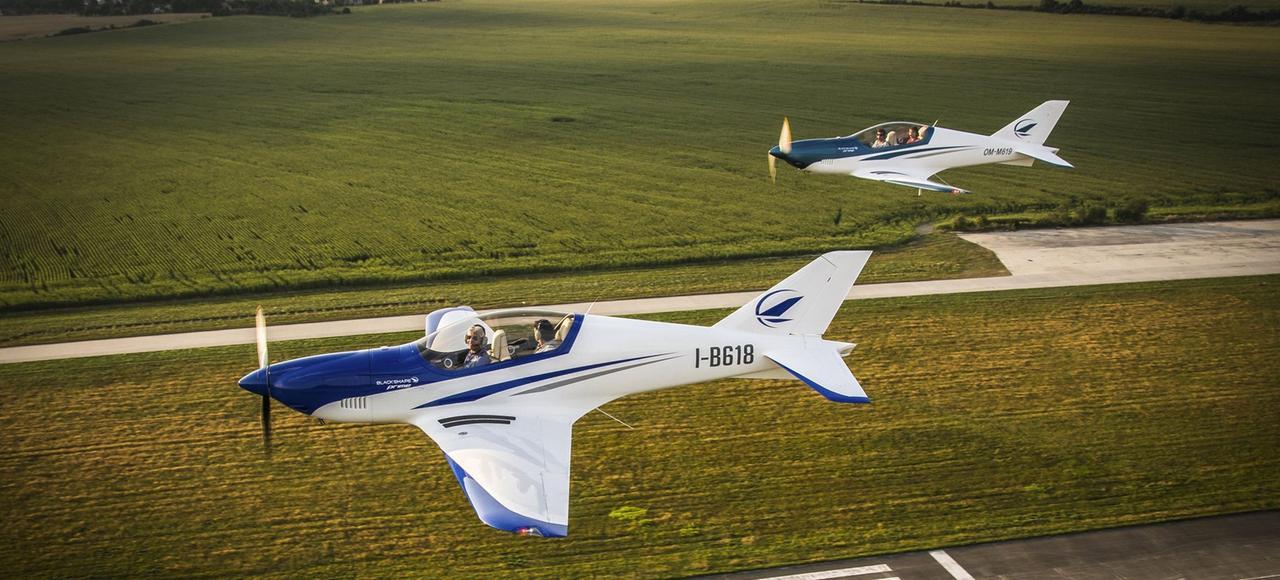 Des avions ultralégers en fibres de carbone, produits à Monopoli, non loin des Pouilles.