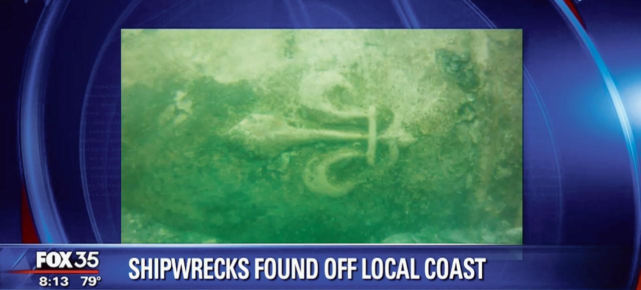 Trois canons ornés d'une fleur de lys ont été découverts par les plongeurs de la firme Global Marine Exploration en Floride.