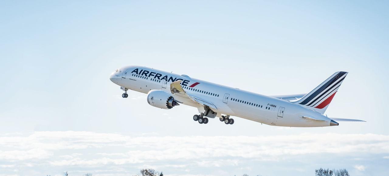 Le premier Boeing 787 d'Air France relieraParis auCaire à partir du 9 janvier 2017.