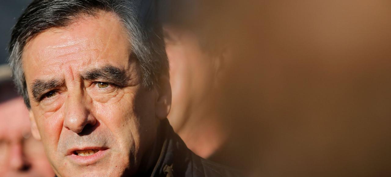 Le gagnant de la primaire de droite, François Fillon, ici en visite à Chantenay-Villedieu dans la Sarthe, le 1er décembre 2016.