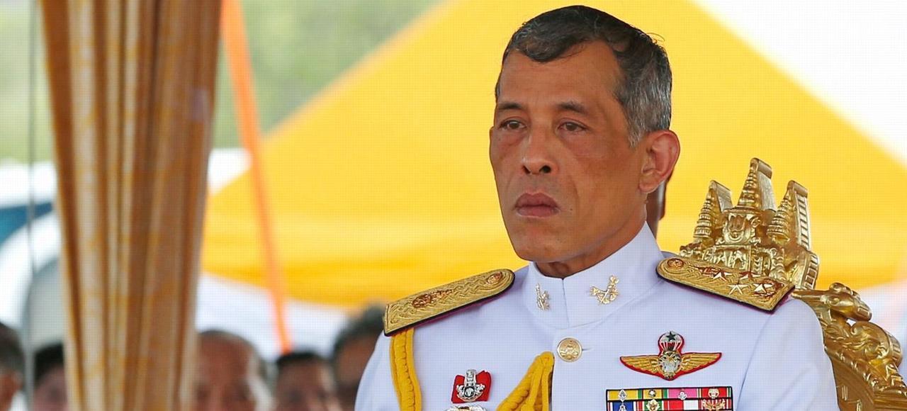 Maha Vajiralongkorn, à Bangkok, en mai dernier.