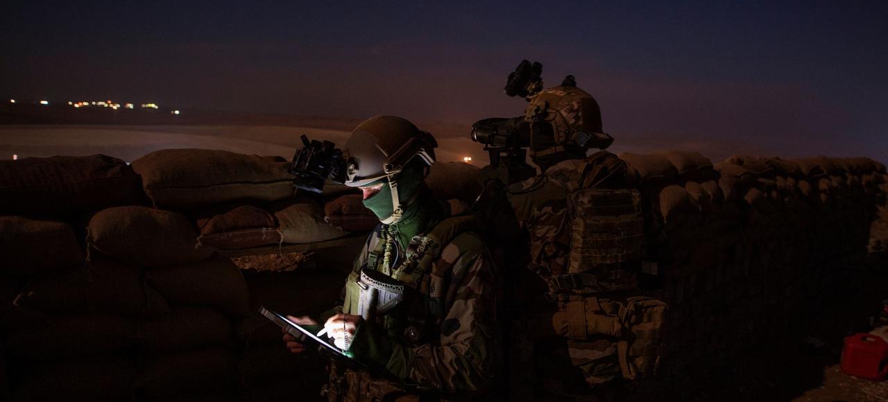 À Mossoul, avec les forces spéciales françaises