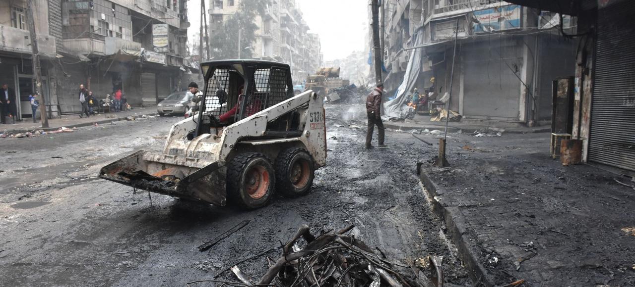 La victoire des Russes, des Iraniens et du régime syrien à Alep est un tournant stratégique dans l'organisation des relations internationales.
