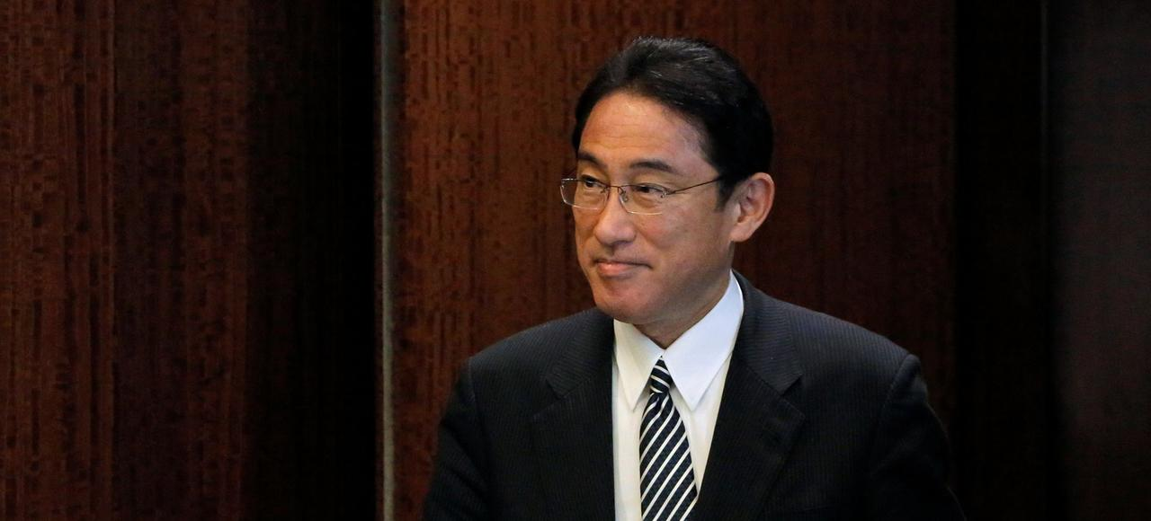 Fumio Kishida, ministre des Affaires étrangères du Japon.