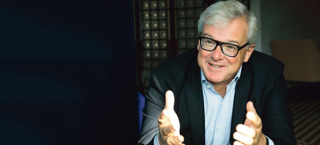 «Je suis passionné par l'entreprise qui est un voyage», explique Bertrand Dumazy, PDG du groupe Edenred.