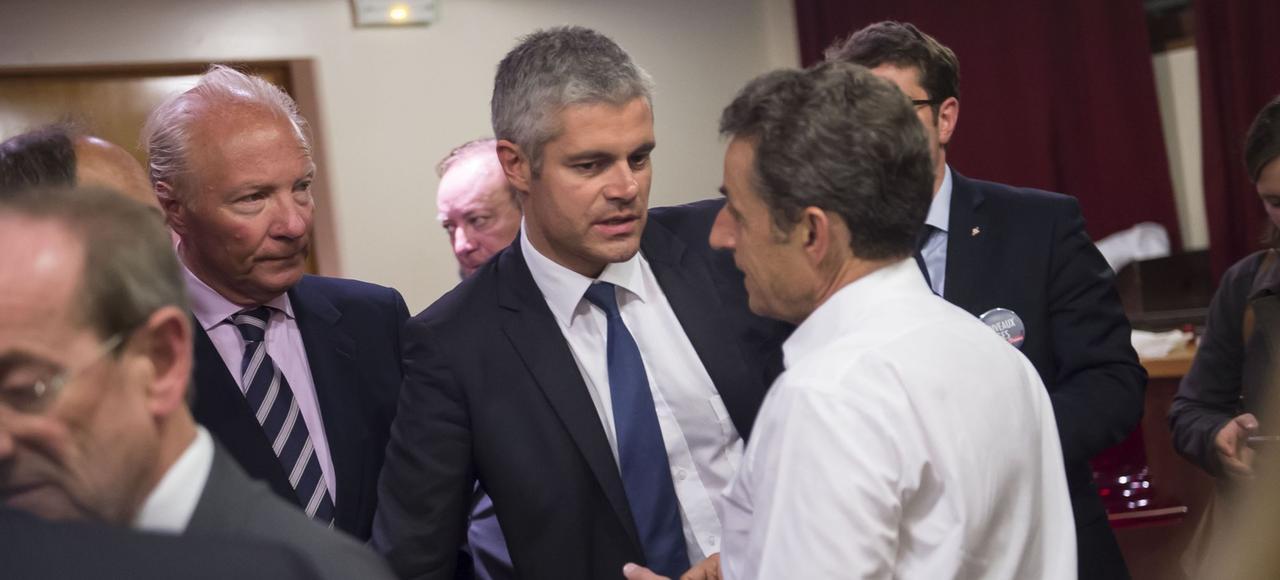 Brice Hortefeux, fidèle parmi les fidèles de l'ancien chef de l'Etat, et Laurent Wauquiez continuent d'entretenir des relations privilégiées avec Nicolas Sarkozy depuis sa défaite au premier tour de la primaire.