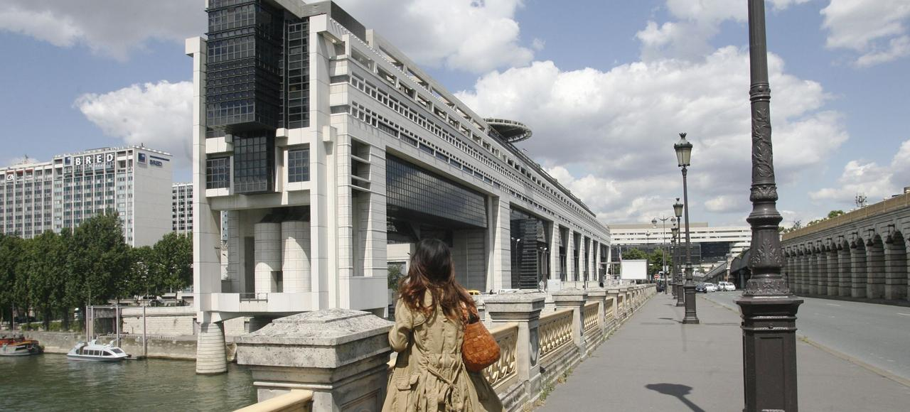 Ci-dessus: le ministère des Finances à Paris.La France affiche la deuxième imposition la plus élevée d'impôt des sociétés d'Europe.