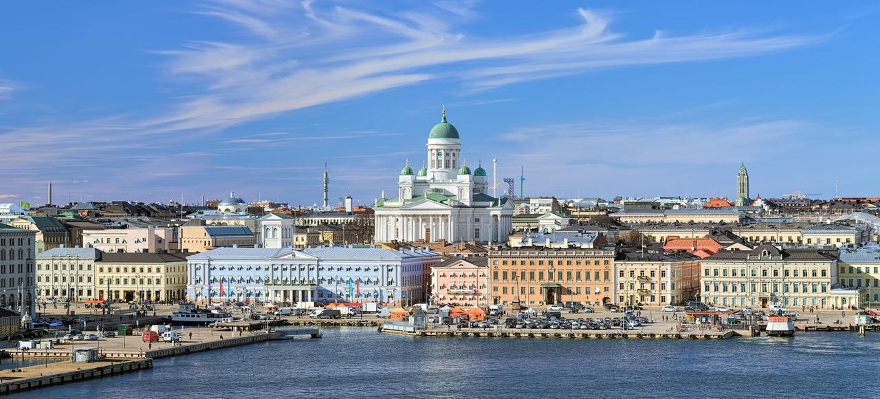 En Finlande, le taux de chômage est de 8,1% (ici, Helsinki).