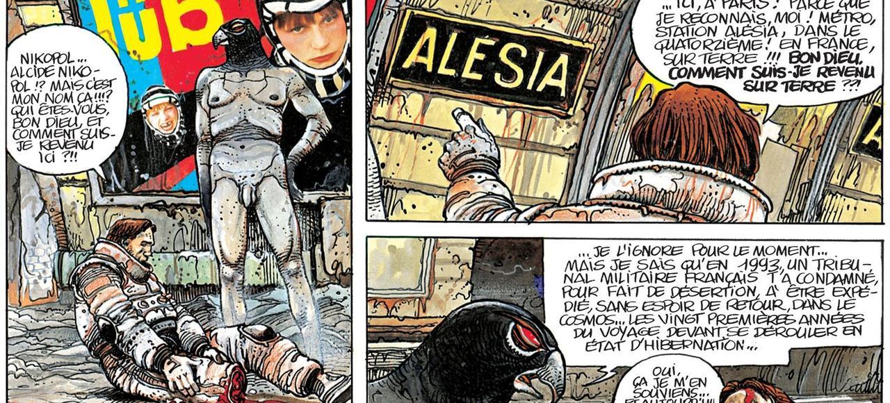 Le héros de <i>La Foire aux Immortels</i> se réveille station Alésia au c&#339;ur du Paris futuriste de Bilal.