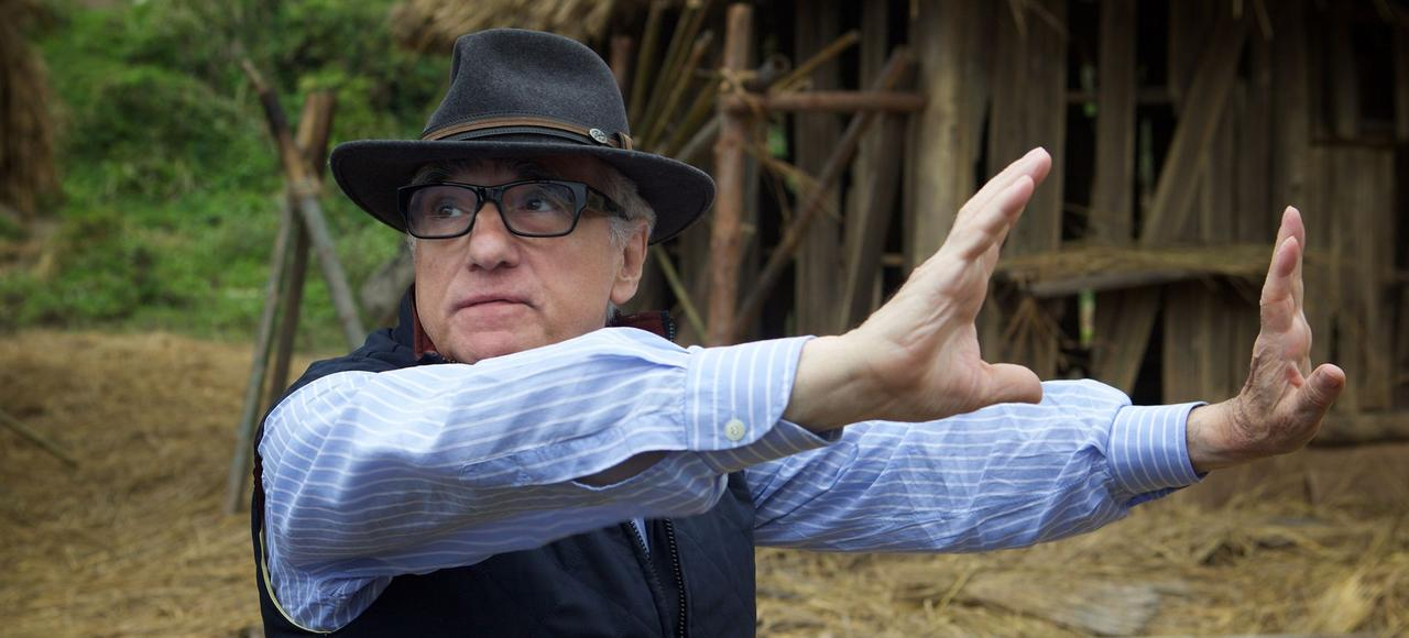 Martin Scorsese sur le tournage du film «Silence».