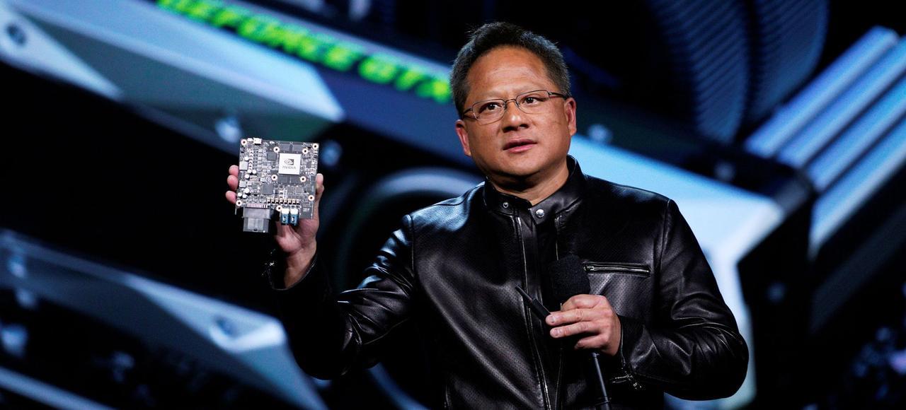 Jen-Hsun Huang, PDG et fondateur de Nvidia.