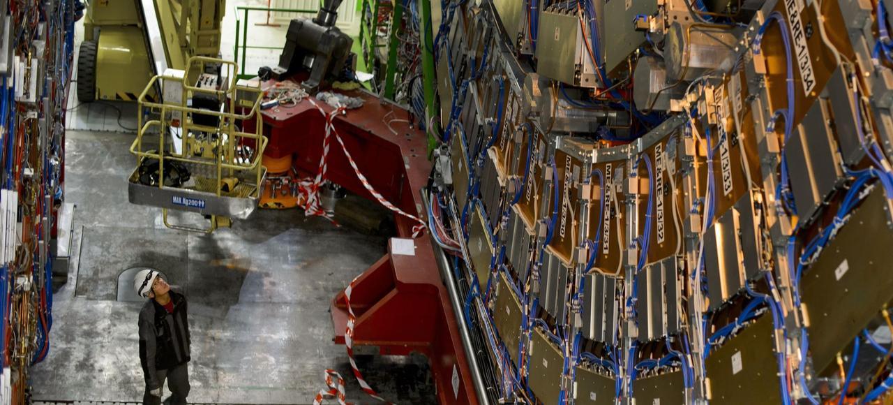 Le CERN à Meyrin, près de Genève, est le plus grand entre de physique des particules du monde.