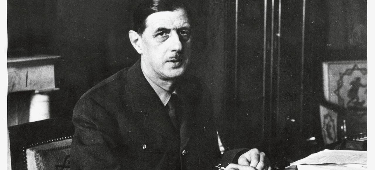 Charles de Gaulle, à Paris, le11novembre 1944.