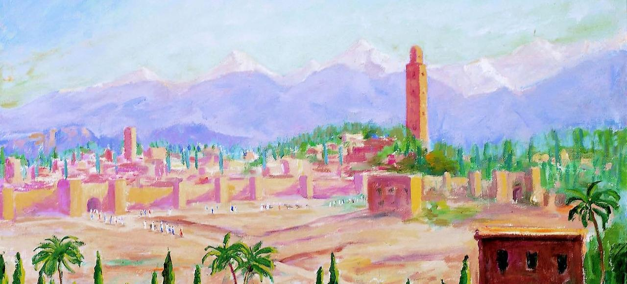 recits coup de foudre a marrakech .