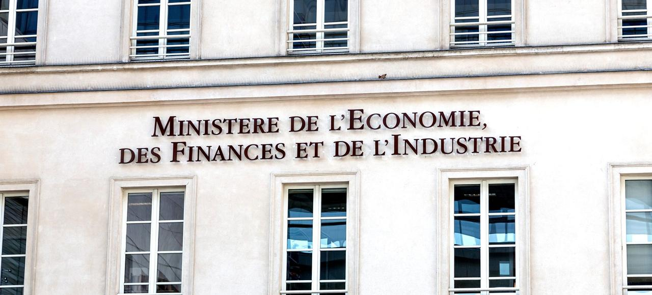 Vue extérieur du ministère de l'Économie à Bercy.