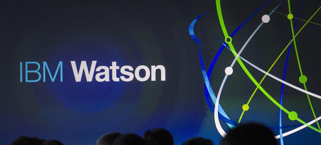 La plateforme d'intelligence artificielle Watson.