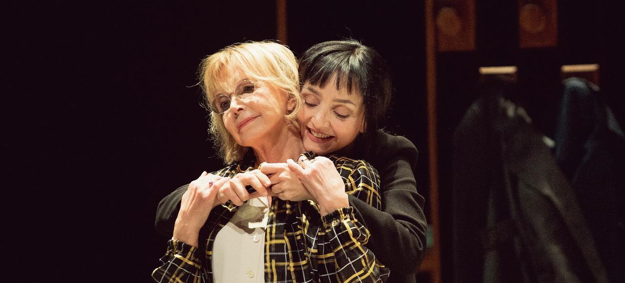 Bulle Ogier et Maria de Medeiros dans <i>Un </i> <i>amour impossible</i>.