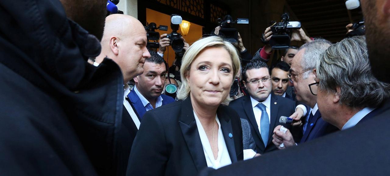 Malgré les affaires, Marine Le Pen conserve sa dynamique