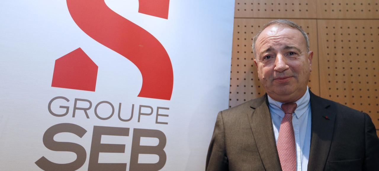 Thierry de La Tour d'Artaise, PDG de Seb, en 2013.